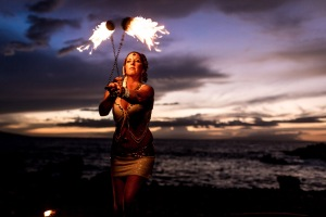 Merkabah Fire Hawaii Desiree